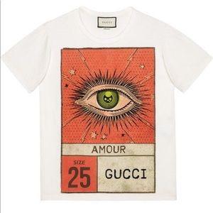Gucci screen print tee